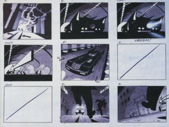 Batman - Storyboard 2
