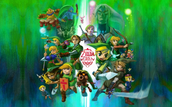 The Legend of Zelda 25 aniversario