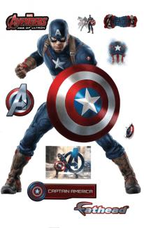 Promo FatHead Capitán América