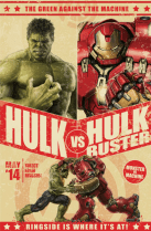 Promo FatHead Hulk vs. HulkBuster