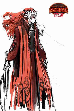 Boceto de Angela 2