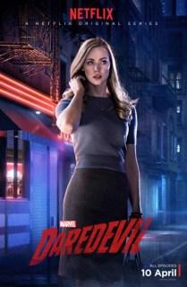 Daredevil - Karen Page poster