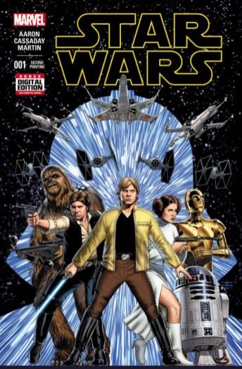 Portada Star Wars segunda impresión