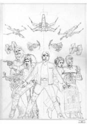 Previa Portada Star Wars fighters