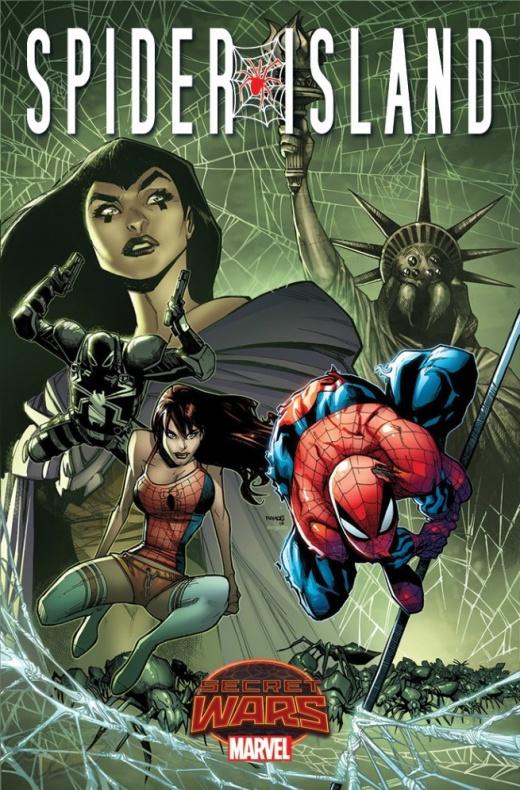 'Spider-Island' se suma a las secret wars previa