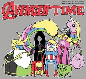 hora-de-aventuras-vengadores-marvel
