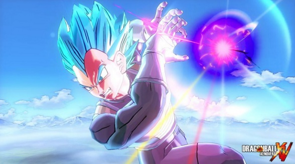 Dragon Ball Xenoverse SSGSS Vegeta