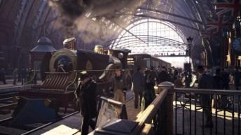 Assassin's Creed Syndicate Estación Victoria