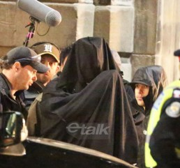 Ben Affleck en el rodaje de 'Escuadrón Suicida'