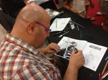 Davide Fabri Metropoli Comic Con Artist Alley