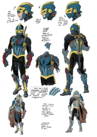 Caballero Negro Marvel Diseños