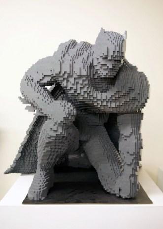 Estatua de Batman de LEGO - SDCC