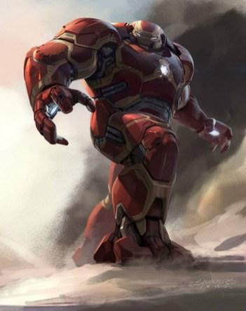 Hulkbuster arte conceptual 2