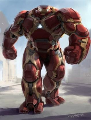 Hulkbuster arte conceptual 3