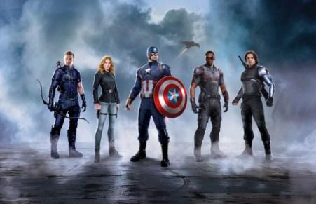 El equipo del Capitán América