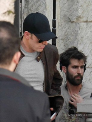 Capitán América Civil War - rodaje Berlín 26