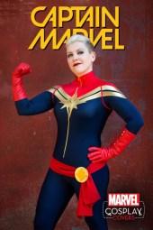 Cosplay Variant Captain Marvel