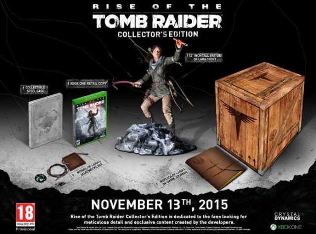 Rise of the Tomb Raider - Ed Coleccionista