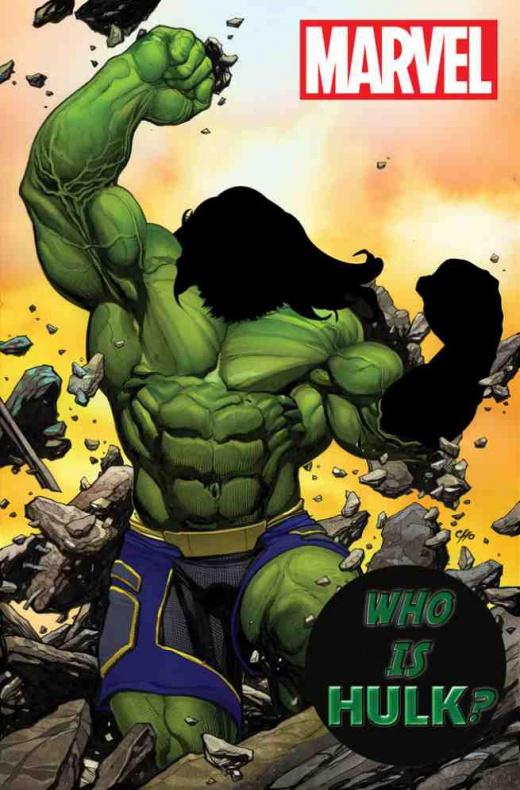 Hulk pelo largo y barba