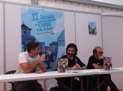 Iván García presenta 'Capitán Eclipse'