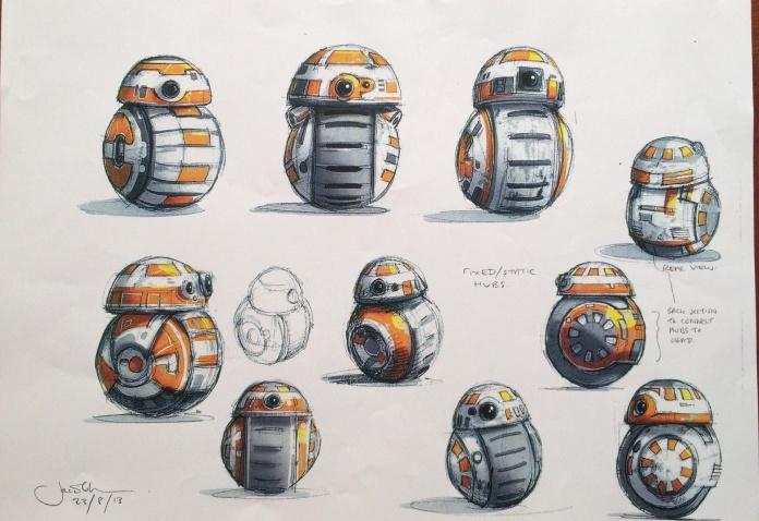 Star Wars: El despertar de la fuerza nuevo arte promocional y vídeo 02