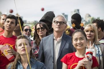 Martin Stein entre la multitud