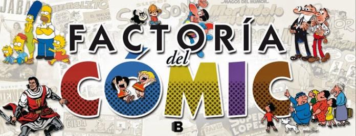 Logo Factoría del cómic