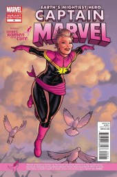 Los superhéroes y el Día Mundial contra el Cáncer de Mama