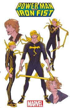 Power Man and Iron Fist Danny Rand