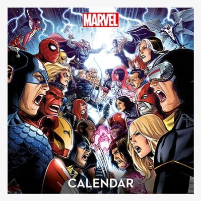 El calendario sustituye a la placa con la portada de Spider-Man que ofrecieron en la prueba de mercado