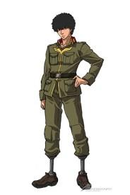 Mobile Suit Gundam Thunderbolt Daryl Lorentz