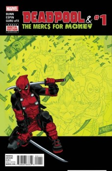 Portada Deadpool and the Mercs for Money