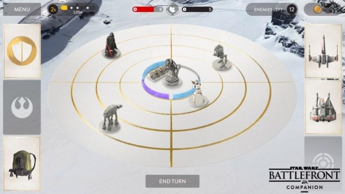 Base Comand mini-juego