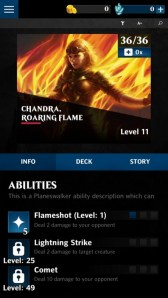 Magic The Gathering - Puzzle Quest Habilidades Chandra