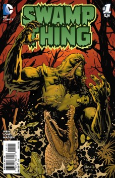Swamp Thing Portada alternativa de Yanick Paquette y Nathan Fairbairn