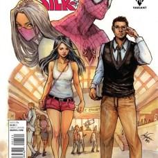 Amazing Spider-Man & Silk Portada alternativa de Siya Oum