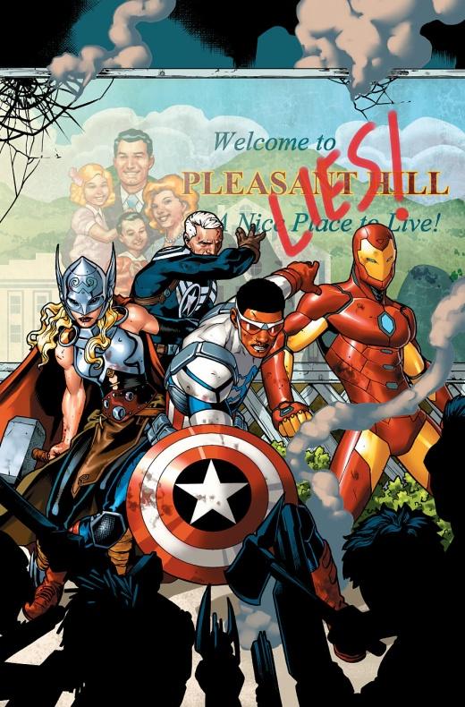 Avengers Standoff Portada de Jesús Saiz