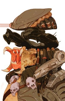 Predator Life and Death portada alternativa Sachin Teng