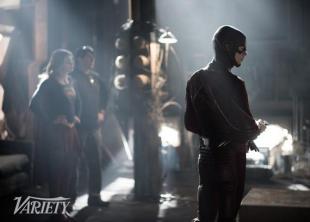 The Flash y Supergirl