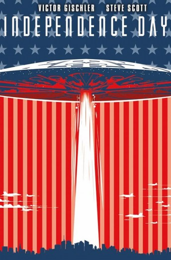 Independence Day Portada principal de Steve Scott