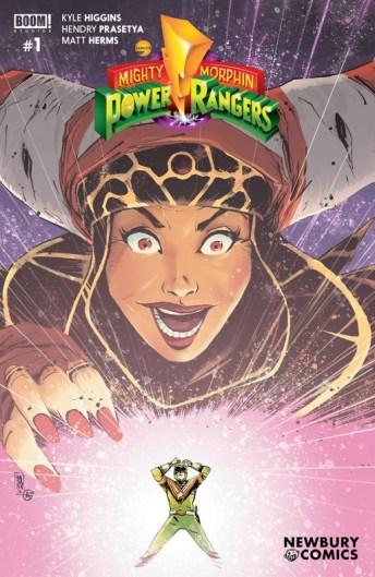 Power Rangers Variant Cover Newbury Comics
