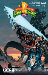 Power Rangers Variant Cover Tates Comics