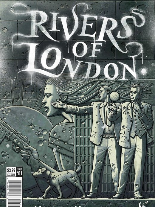 Rivers of London The night witch Portada Principal de Paul McCaffrey
