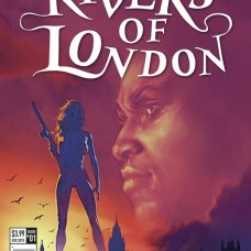 Rivers of London The night witch Portada alternativa de Alex Ronald