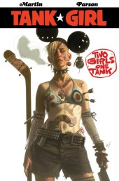 tank girl black frog