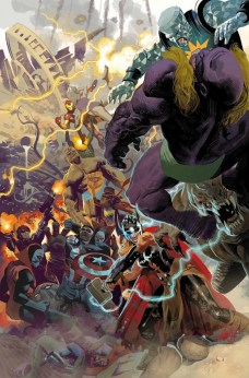 Avengers Standoff Omega Portada principal de Daniel Acuña