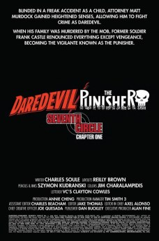 Daredevil Punisher Página interior (1)
