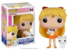 Funko POP! Sailor Venus y Artemis