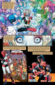 Harley Quinn and Her Gang of Harleys Página interior (1)