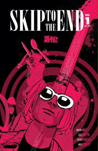 Skip To The End Portada de Alex Diotto